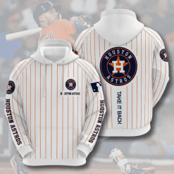 MLB Houston Astros 3D Hoodie V8