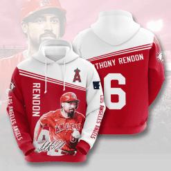 MLB Los Angeles Angels 3D Hoodie V8