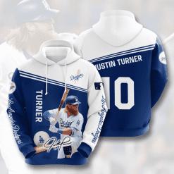 MLB Los Angeles Dodgers 3D Hoodie V8