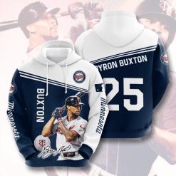 MLB Minnesota Twins 3D Hoodie V8