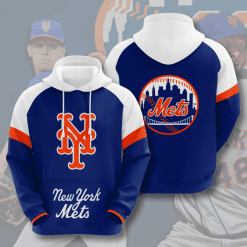 MLB New York Mets 3D Hoodie V8
