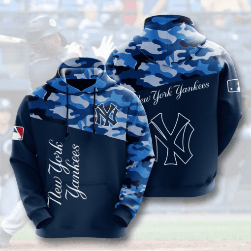MLB New York Yankees 3D Hoodie V8