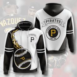 MLB Pittsburgh Pirates 3D Hoodie V8