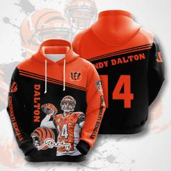 NFL Cincinnati Bengals 3D Hoodie V8