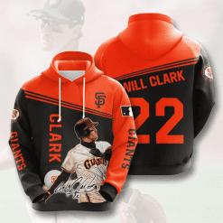 MLB San Francisco Giants 3D Hoodie V8