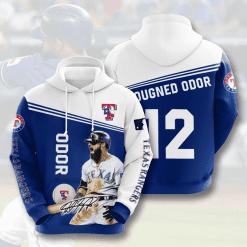 MLB Texas Rangers 3D Hoodie V8