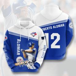MLB Toronto Blue Jays 3D Hoodie V8