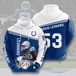 NFL Indianapolis Colts 3D Hoodie V9