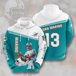 NFL Miami Dolphins 3D Hoodie V9