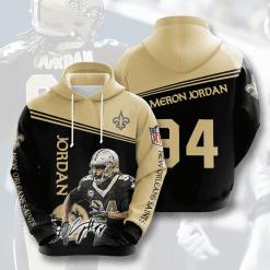 NFL New Orleans Saints 3D Hoodie V9