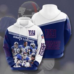 NFL New York Giants 3D Hoodie V9