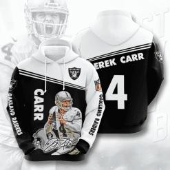 NFL Oakland Raiders 3D Hoodie V9