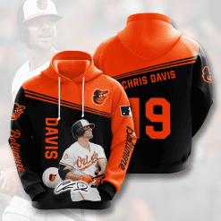 MLB Baltimore Orioles 3D Hoodie V9