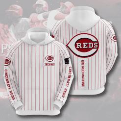MLB Cincinnati Reds 3D Hoodie V9