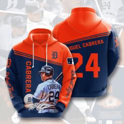 MLB Detroit Tigers 3D Hoodie V9