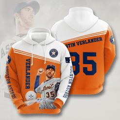 MLB Houston Astros 3D Hoodie V9