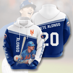 MLB New York Mets 3D Hoodie V9