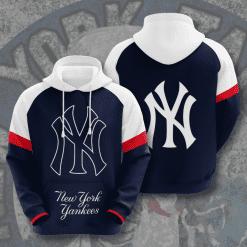 MLB New York Yankees 3D Hoodie V9