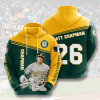 MLB Oakland Athletics 3D Hoodie V8