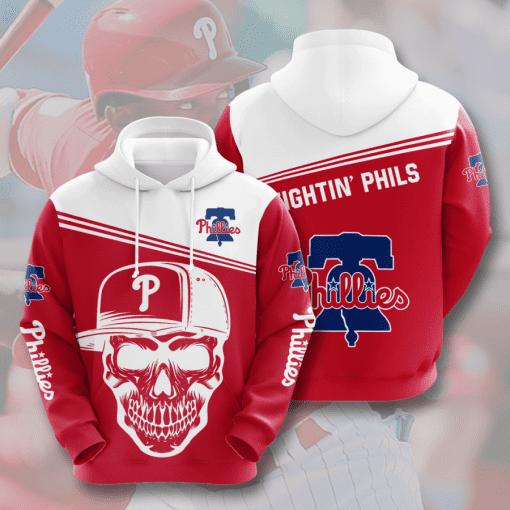 MLB Philadelphia Phillies 3D Hoodie V9