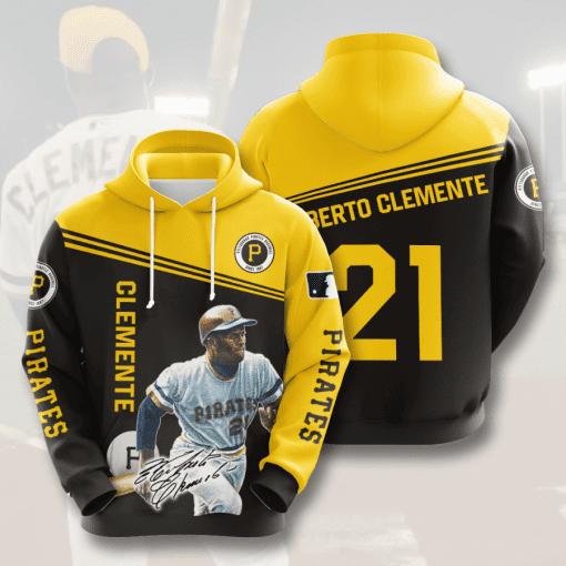 MLB Pittsburgh Pirates 3D Hoodie V9