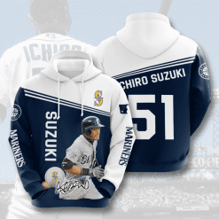 MLB Seattle Mariners 3D Hoodie V9