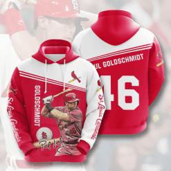 MLB St. Louis Cardinals 3D Hoodie V9