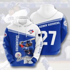 MLB Toronto Blue Jays 3D Hoodie V9