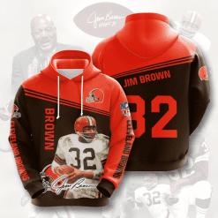 NFL Cleveland Browns 3D Hoodie V9