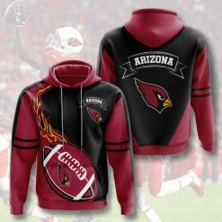 NFL Arizona Cardinals 3D Hoodie V4