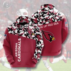 NFL Arizona Cardinals 3D Hoodie V3