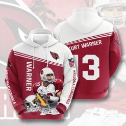 NFL Arizona Cardinals 3D Hoodie V11