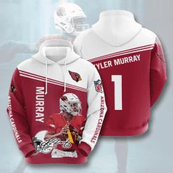 NFL Arizona Cardinals 3D Hoodie V5
