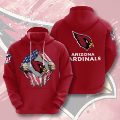 NFL Arizona Cardinals 3D Hoodie V1