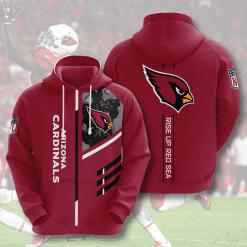 NFL Arizona Cardinals 3D Hoodie V2