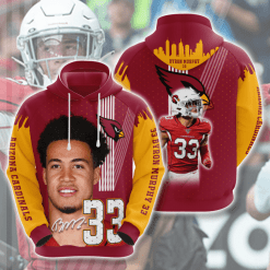 NFL Arizona Cardinals 3D Hoodie V24