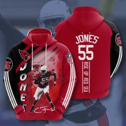 NFL Arizona Cardinals 3D Hoodie V17