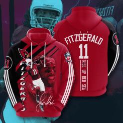 NFL Arizona Cardinals 3D Hoodie V13