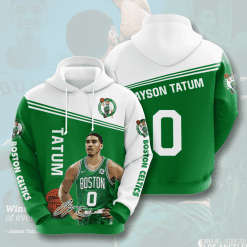 NBA Boston Celtics 3D Hoodie V1