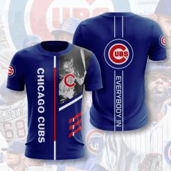 MLB Chicago Cubs 3D T-Shirt V1