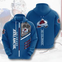 NHL Colorado Avalanche 3D Hoodie V1