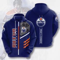 NHL Edmonton Oilers 3D Hoodie V1