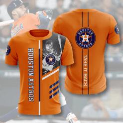 MLB Houston Astros 3D T-Shirt V1