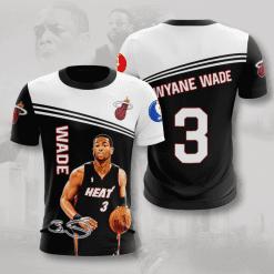 NBA Miami Heat 3D T-Shirt V1