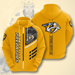 NHL Nashville Predators 3D Hoodie V1