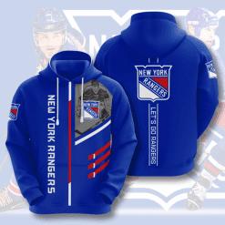 NHL New York Rangers 3D Hoodie V1