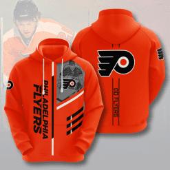 NHL Philadelphia Flyers 3D Hoodie V1
