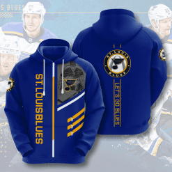 NHL St. Louis Blues 3D Hoodie V1