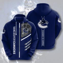 NHL Vancouver Canucks 3D Hoodie V1