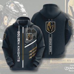 NHL Vegas Golden Knights 3D Hoodie V1